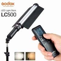 Godox LC500 Punho LEVOU Bastão de Luz 3300 K 5600 K Ajustável Bateria lithiunm Embutido + Controle Remoto Iluminação + Carregador De Energia AC|Iluminação fotográfica| |  -