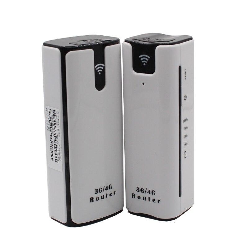 3G Mini Mifi Sans Fil Portable Mobile Hotspot Débloqué HSPA + Wi Fi Modem Puissance Banque