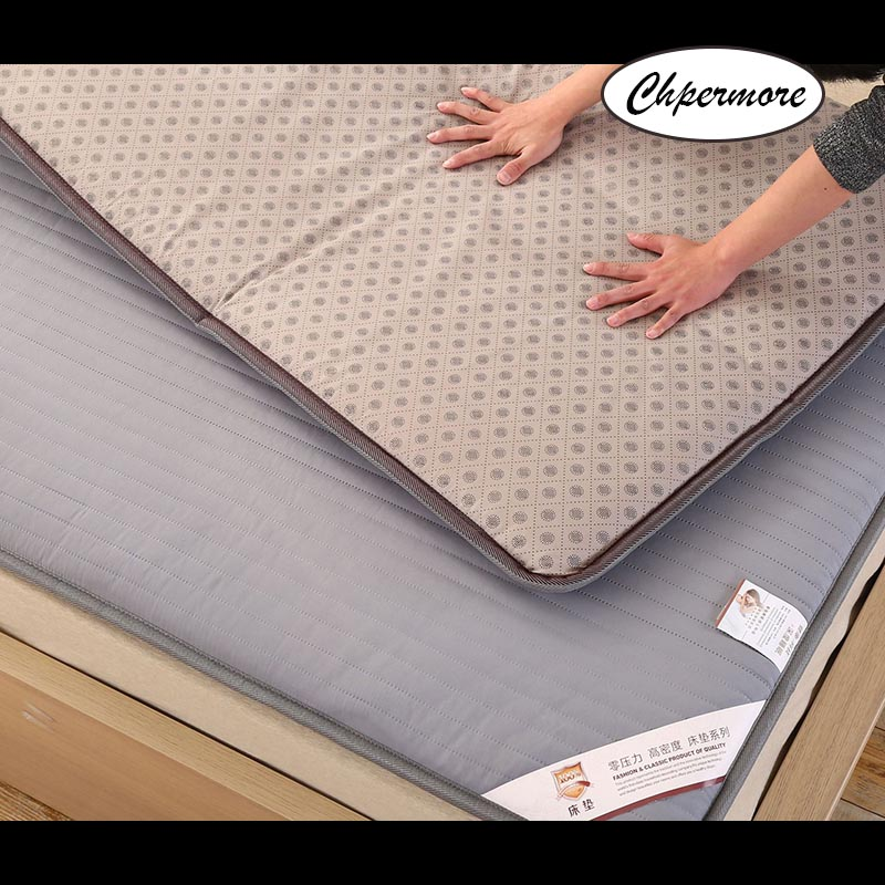 Chpermore student dormit Thicken Mattresses Keep warm Foldable Tatami Breathable Mattress Cover For Family Bedspreads King Size