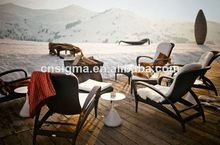 2017 new style garden furniture rattan beach chair(China)