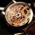Yazole hombres reloj marca de lujo casual relojes de cuarzo reloj de los hombres de negocios del deporte hombre reloj militar del ejército esqueleto reloj 321