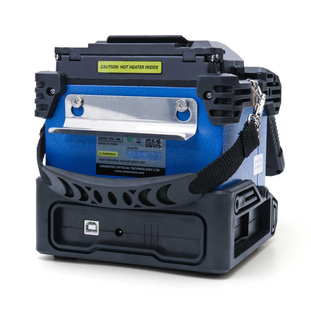 Orientek T43 Fusion Splicer Fiber Splicing Machine maquina de fusao FTTH Kit