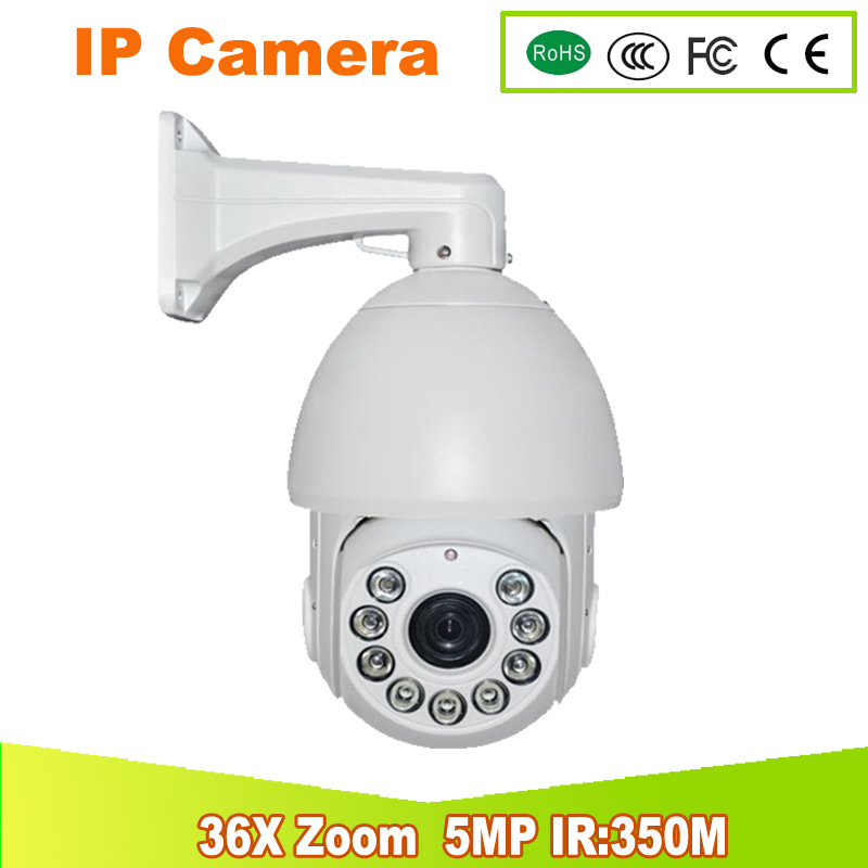 YUNSYE Free Shipping 5.0MP IP CAMERA speed dome camera 7 inch SONY CMOS 36X ZOOM 5.0MP  Outdoor PTZ IP Speed Dome Camera 350M yunsye free shipping sony fcb ex1010p 36x zoom sony camera module 36x zoom camera high resolution mini camera small ptz
