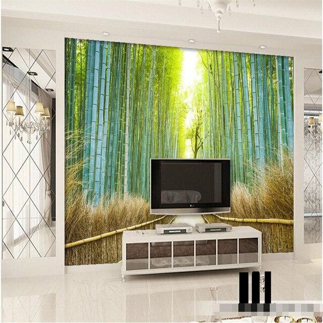 Beibehang dekoration hintergrund tapete einfache wohnzimmer natur ...