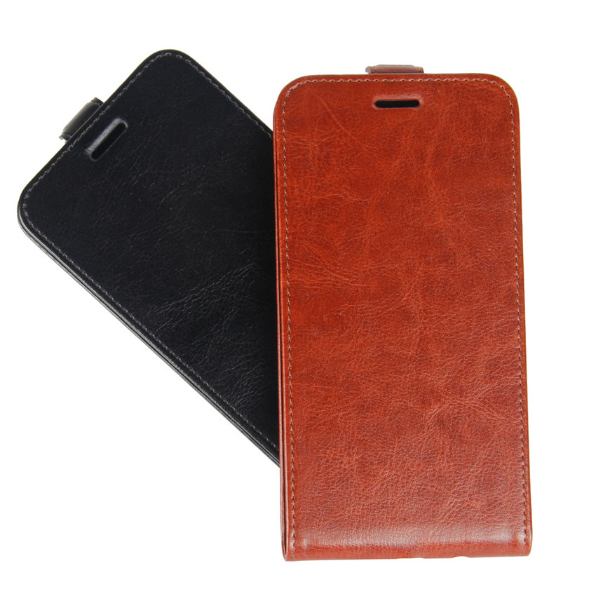 Image 5 - Redmi 6A Up Down Vertical Flip Wallet Leather Card Holder Case for Xiaomi Redmi 6A Full Protective Phone Cover Case-in Flip Cases from Cellphones & Telecommunications
