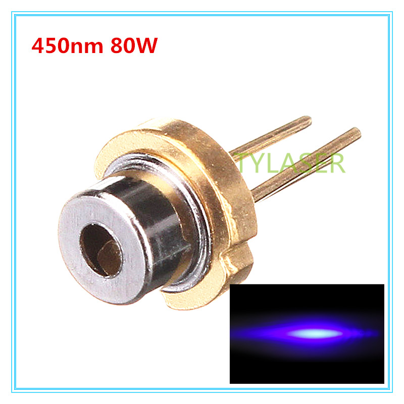 450nm 80mW Blue Laser Diode D5.6