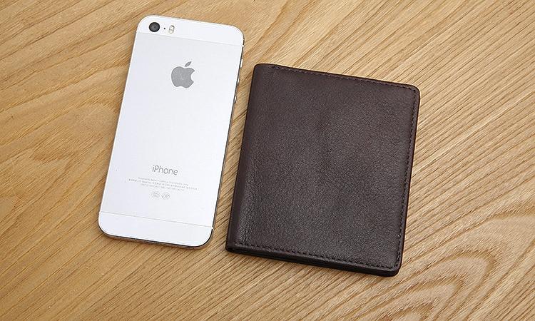 LANSPACE läder mäns plånböcker Brand casual pocket plånbok - Plånböcker - Foto 3