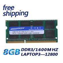 KEMBONA מחשב נייד מחשב DDR3 8GB 1600Mzh 8G DDR3L 1.35 V PC3 12800L 1.35 V זיכרון Ram Memoria