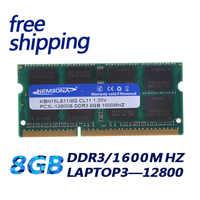 KEMBONA Laptop Computer DDR3 8 GB 1600Mzh 8G DDR3L 1,35 V PC3-12800L 1,35 V Speicher Ram Memoria