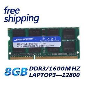 Image 1 - KEMBONA Laptop Computer DDR3 8GB 1600Mzh 8G DDR3L 1,35 V PC3 12800L 1,35 V Speicher Ram Memoria