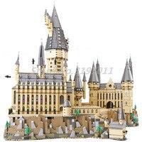 Гарри фильм серии строительные блоки Замок Хогвартс Лепин 16060 кирпичи 71043 Поттер модель Развивающие игрушки для детей 6742 шт.