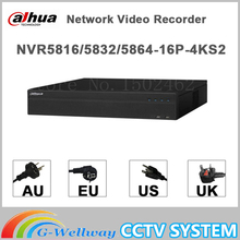 Original egnlish version dahua NVR 16/32/64CH Network Video Recorder NVR5816-16P-4KS2 NVR5832-16P-4KS2 NVR5864-16P-4KS2