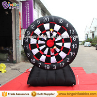 Oxford cloth inflatable darts board shooting stick wall for kid game with FREE shipping fee