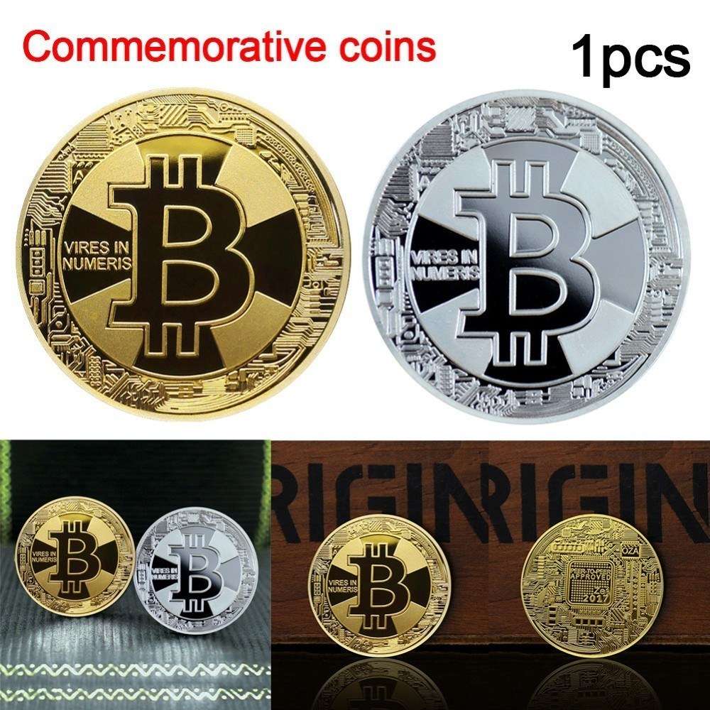 Silver Plated DIGITAL CASH DASH Coins