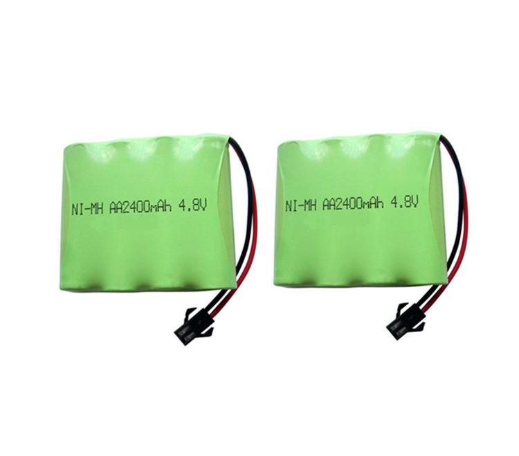 2pack 4.8V 2400mAh Remote Control toy electric lighting lighting security facilities AA battery RC TOYS Ni-MH battery group
