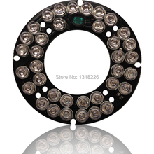 5PCS/LOT 850nm 36 LED 5mm Infrared IR Led Board For 75 outdoor  waterproof CCTV Camera 90 Degree Bulb