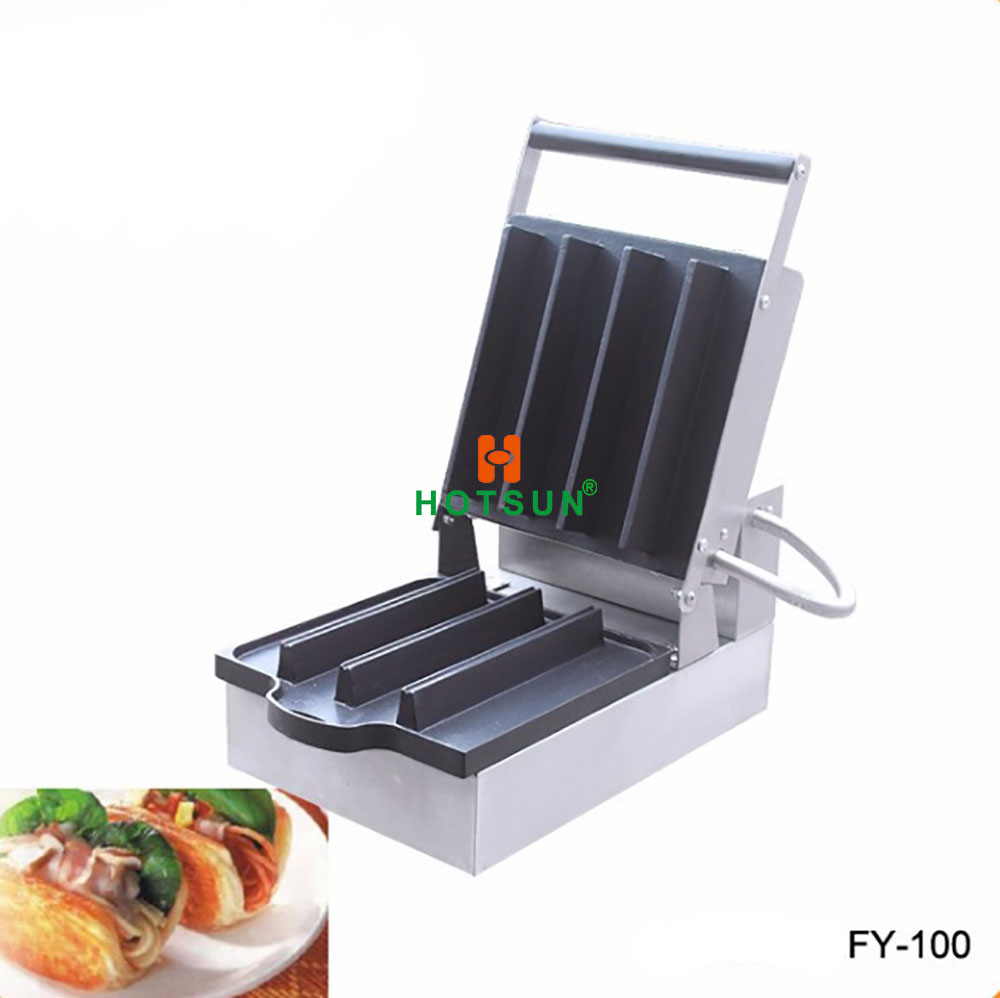 Free Shipping Commercial 110V 220V Electric 4pcs Japanese Sandwich Maker Iron Baker Machine