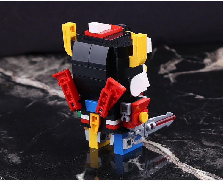 18002 455pcs Defender Of The Universe Brickheadz Voltron Beast King GoLion Robot Building Blocks Brick Toy in Blocks from Toys Hobbies