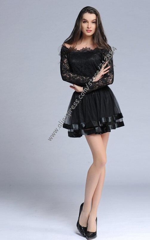 Новинка, распродажа, черная сетчатая Винтажная летняя мини-юбка, женская тонкая Пышная Красная faldas skater, Клубная одежда, юбка лолита, юбка