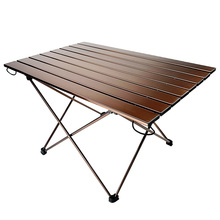 Ultra light folding outdoor furniture camping table BBQ tabl