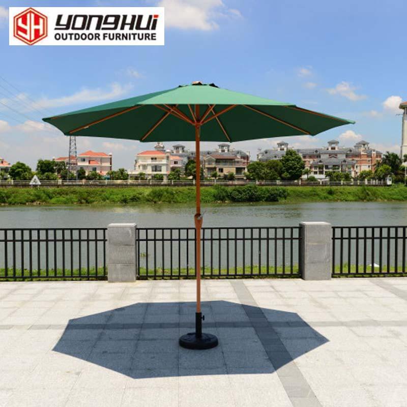 Outdoor balcony patio umbrellas umbrella landscape villa garden furniture booth cafe tables and chairs water bar