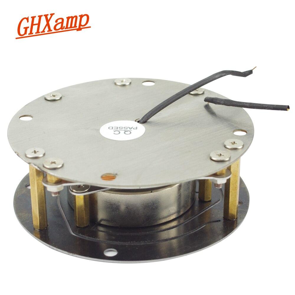 Ghxamp 100W 88MM Vibration Speaker Vibrator Car Bass Drive Plane Resonance Chair Sofa Music Home made