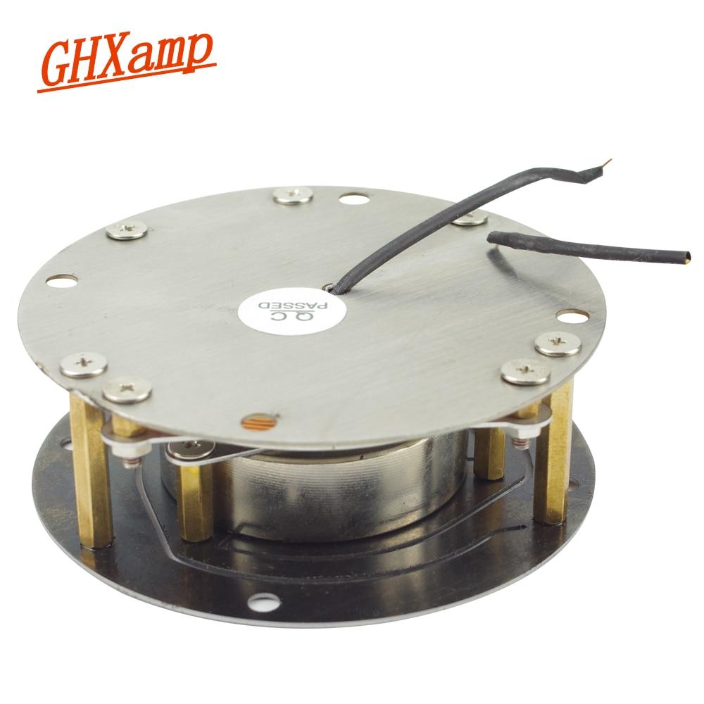 Ghxamp 100W 88MM Vibration Speaker Vibrator Car Bass Drive Plane Resonance Chair Sofa Music Home made Neighbor DIY High Power