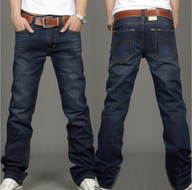 Aliexpress.com : Buy New Men's Cool Jeans Cotton Trousers Casual ...