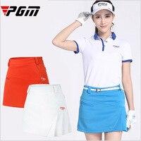 2017 New Women S Golf Skirts Good Elastic Slim Solid High Quality Sports Short Skirt Lined