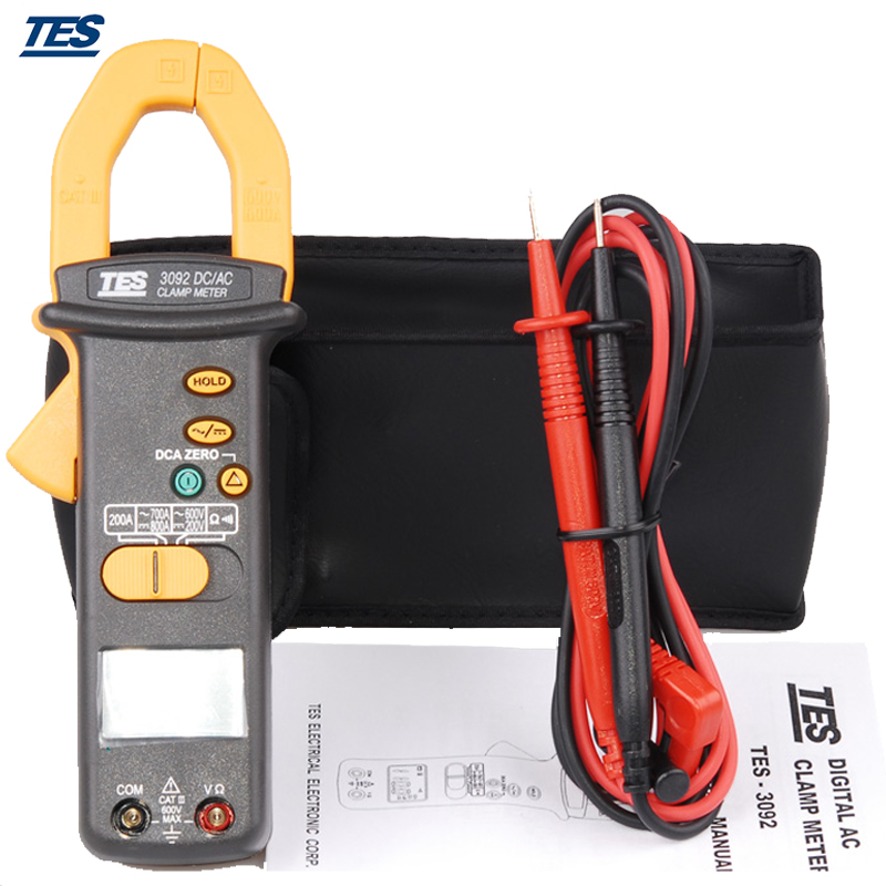 TES-3092 DC/AC Digital Clamp Meter ab 3092