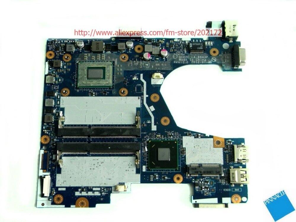 NBM8911003 Motherboard for Acer aspire V5-131 Travelmate B113-E B113-M Q1VZC LA-8943P /w 2127U CPU sheli nbm8911005 nb m8911 005 laptop motherboard for acer aspire v5 131 v5 171 q1vzc la 8943p 1017u main board system board