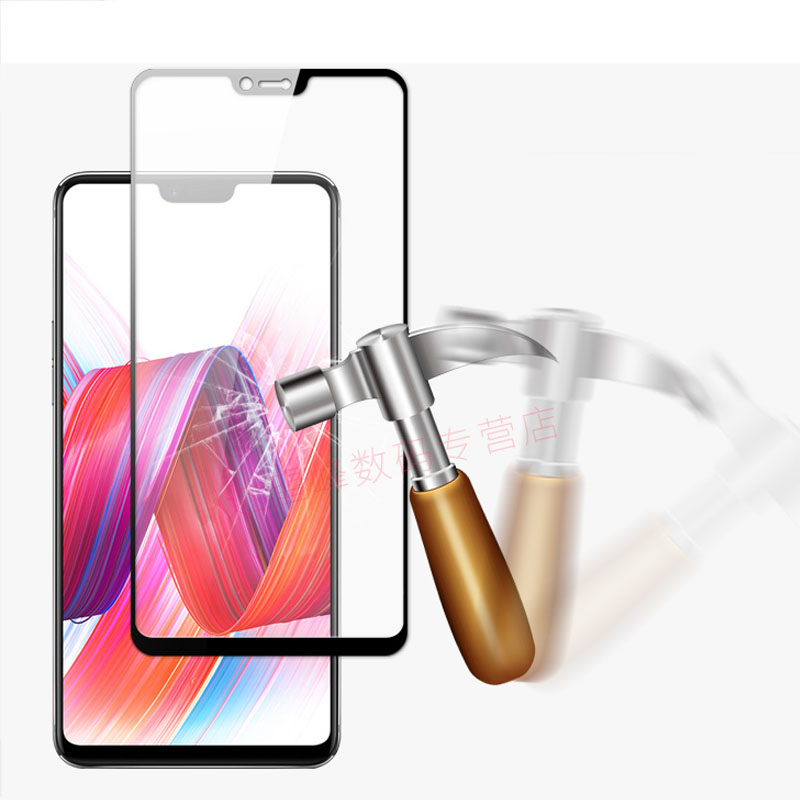 3pc 9H Full body Screen Protector For Oppo R 15 PACM00 6.28Full Cover Protective Film Tempered Glass For Oppo R15