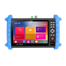 7 Inch H.265 4K IP CCTV Tester Monitor IP CVBS Analog Tester HDMI Input Wifi ONVIF support 12V2A POE output HDMI