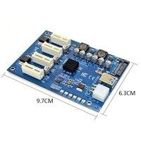 M.2 NGFF PCI E PCI Express Extender Card Riser Adapter 4 PCI E PCIe Slot Adapter Port PCIE Express Card Multiplier For Mining