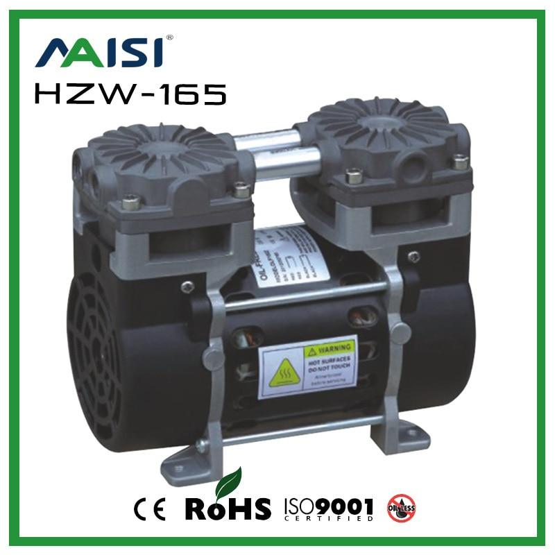 Mini Air Pump 110V/60HZ 50L/MIN 165W AC Vacuum Pump Small Electric Piston Vacuum Pump small vacuum pump 617cd32 small ac oil free vacuum pump