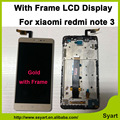 "5.5 ""Painel LCD Full Screen Display Toque Substituição Digitador Assembléia Tela para hongmi nota redmi note 3 3 red rice note 3"
