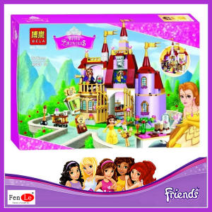 10565 Princess Belles Enchanted Castle Building Blocks 37001 For Girl Friends Kids Model Toys s Compatible with 41067