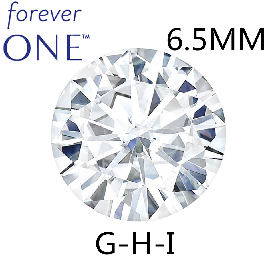 STARYEE Charles Colvard Pour Toujours Un Moissanie Pierre 0.88CT VVS VS GHI Excellente Coupe Lab Grown Diamant Avec Certificat D'origine
