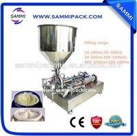 G1WG-2G-300 Factory price double heads cream filling machine 30ml to 300ml