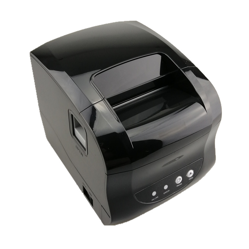 Wholesale Thermal Label Printer Barcode QR Code Sticker Receipt  Bill POS Printer Support 20-80mm Width USB Bluetooth Printers