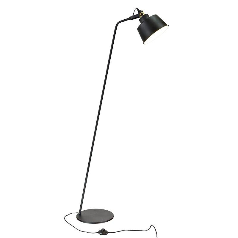 Modern Stand Floor Lamp black white table lamp Simple Floor light for Living Room Folding Standing Lamp Lambader Stehlampe