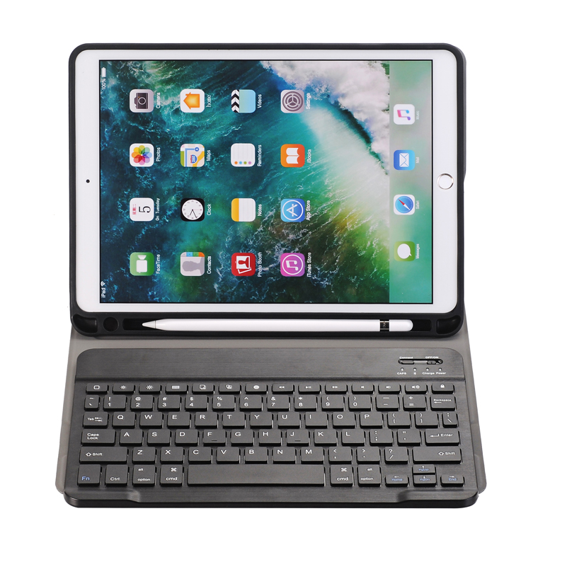 10.5 Keyboard For IPad Air (2019) And IPad Pro 10.5 Inch, Aluminum Bluetooth Keyboard With Backlit Keys (Space Gray)