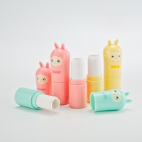 10/30/50pcs 12.1MM Lovely Pink Blue Yellow Alpaca Empty Lipstick Tubes With Paper Box Lip Gloss Lip Balm Packaging Containers