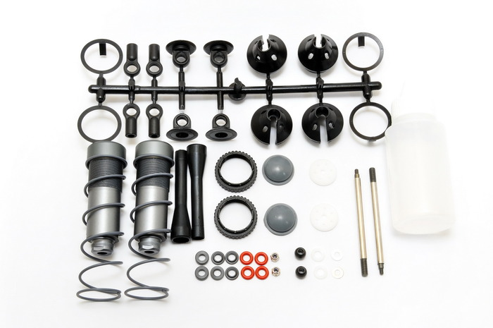 OFNA/HOBAO RACING 94034 SHOCK SET, 2PCS for 1/8 HYPER MT PLUS Free Shipping ofna hobao racing 90047 shock piston 4pcs for 1 8 hyper vs buggy free shipping