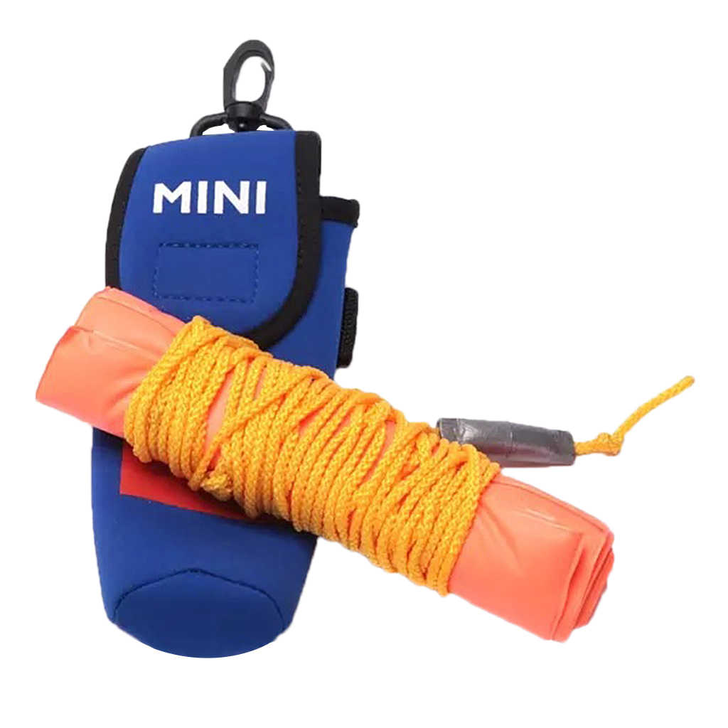 Scuba Diving High Visibility Orange Safety Sausage SMB Surface Marker Buoy