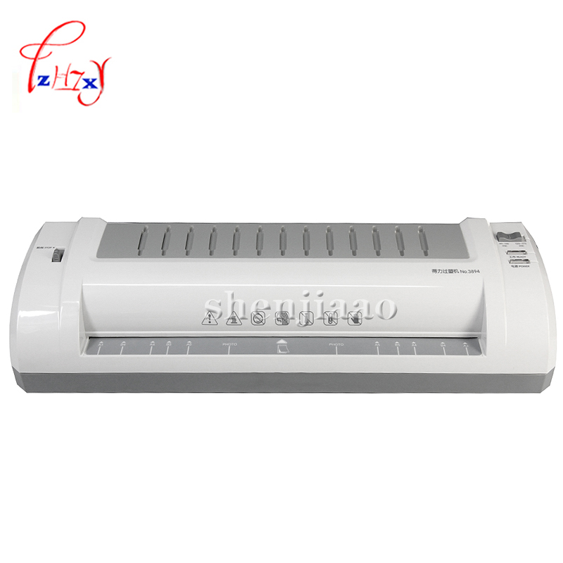 3894 Application of A3 fashion professional mute type laminating machine / laminator Silver popular product 1pc