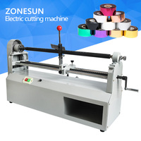 ZONESUN 0 700MM Width Electric Foil Paper Cutting Device 90W Heat Transfer Stamping Foil Cut Machine