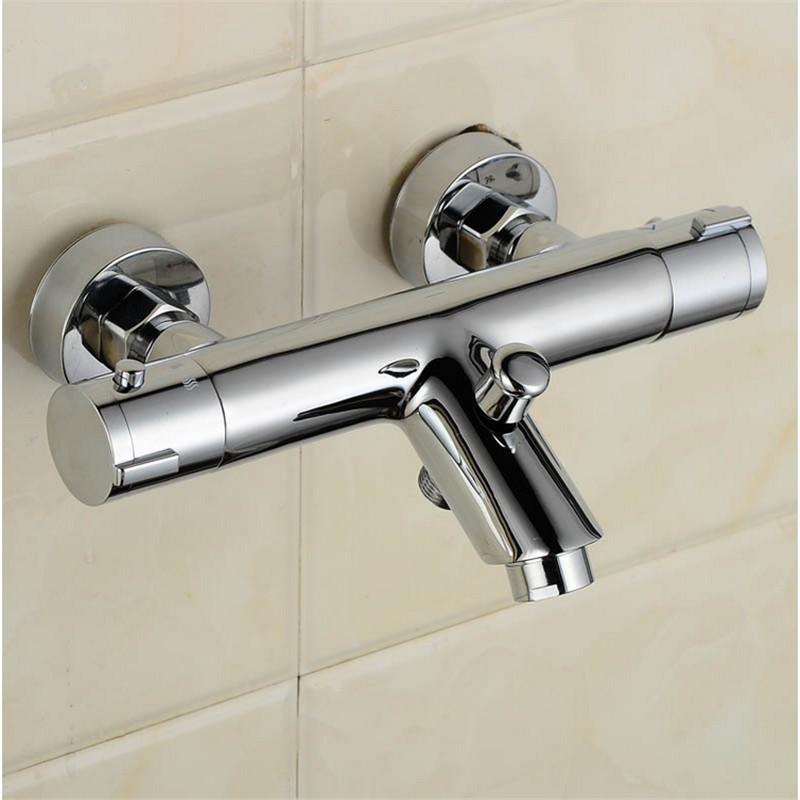 Rushed Shower Faucet Bath Mixer Factory Direct Sale Constant Temperature Crock Bibcock Thermostatic Faucet Bathroom Shower Tap