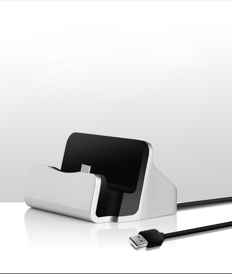 Base de carga LYBALL USB C Charger Dock Type-C Station para OnePlus - Accesorios y repuestos para celulares - foto 6