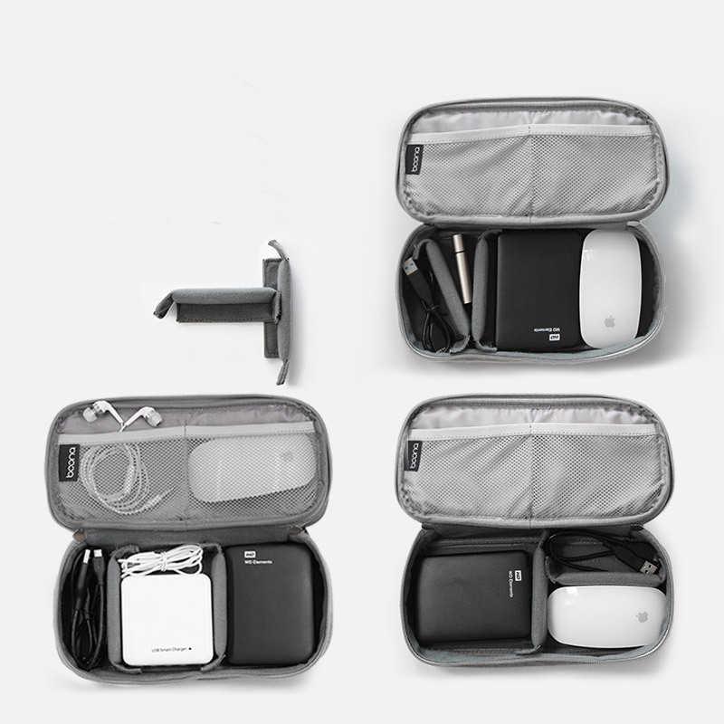 Saco de armazenamento digital acessórios eletrônicos saco para disco rígido mouse organizadores para fone de ouvido cabos usb flash drives caso de viagem